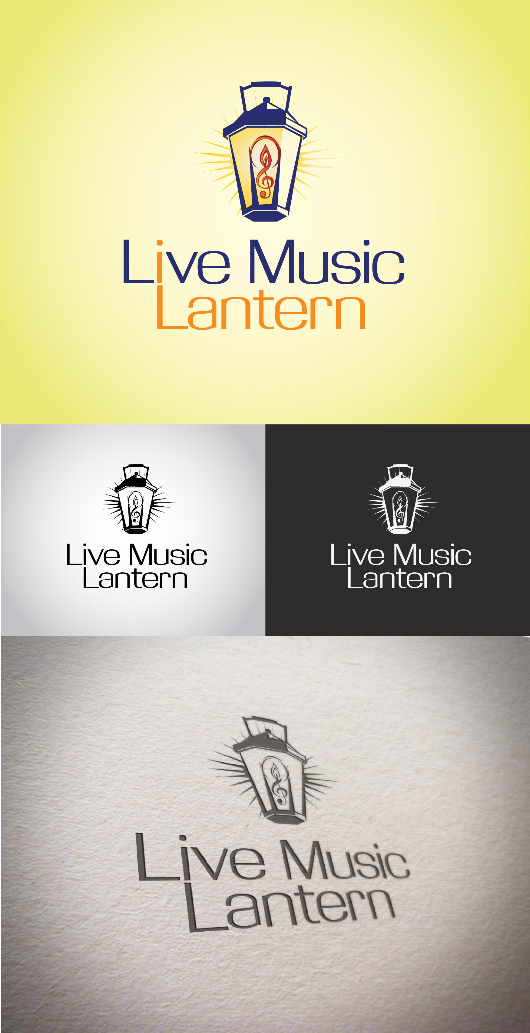 Live Music Lantern