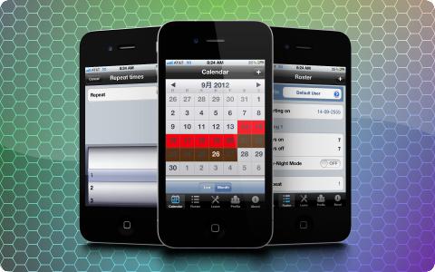 iOS Fifo Calendar